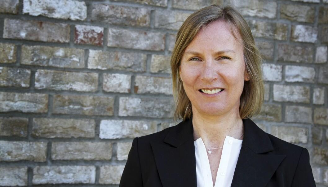 Elisabeth Aarsæther er i statsråd utnevnt til ny direktør i Nasjonal kommunikasjonsmyndighet (Nkom) i Lillesand. Foto: Nkom