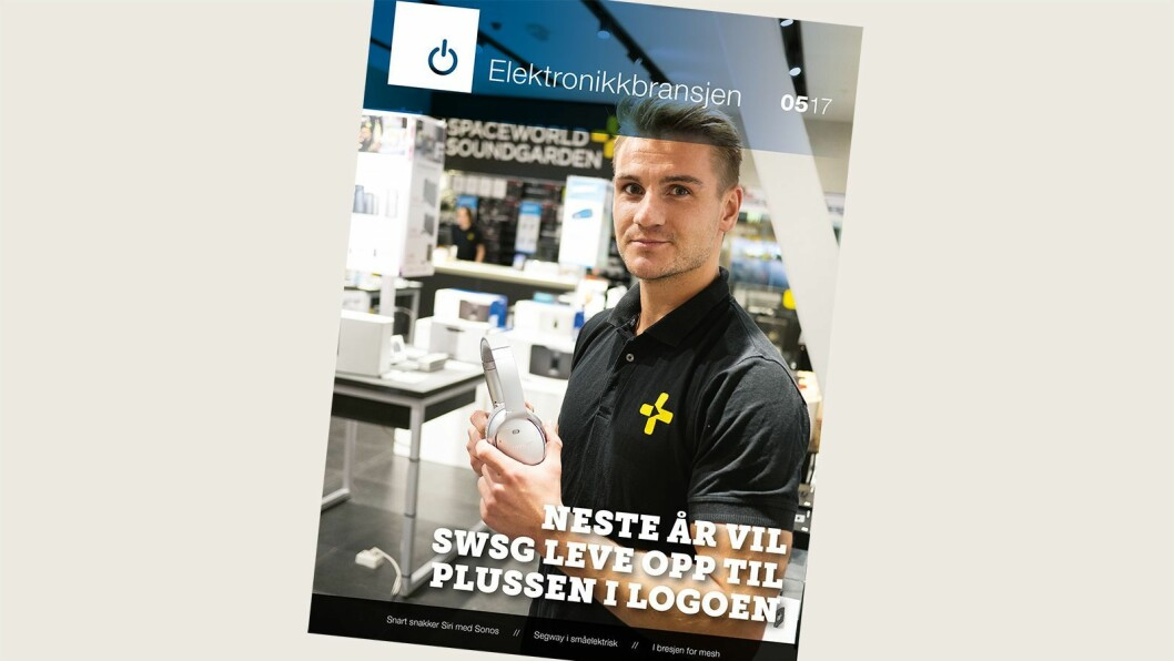 Fagbladet Elektronikkbransjen nr. 5/2017.