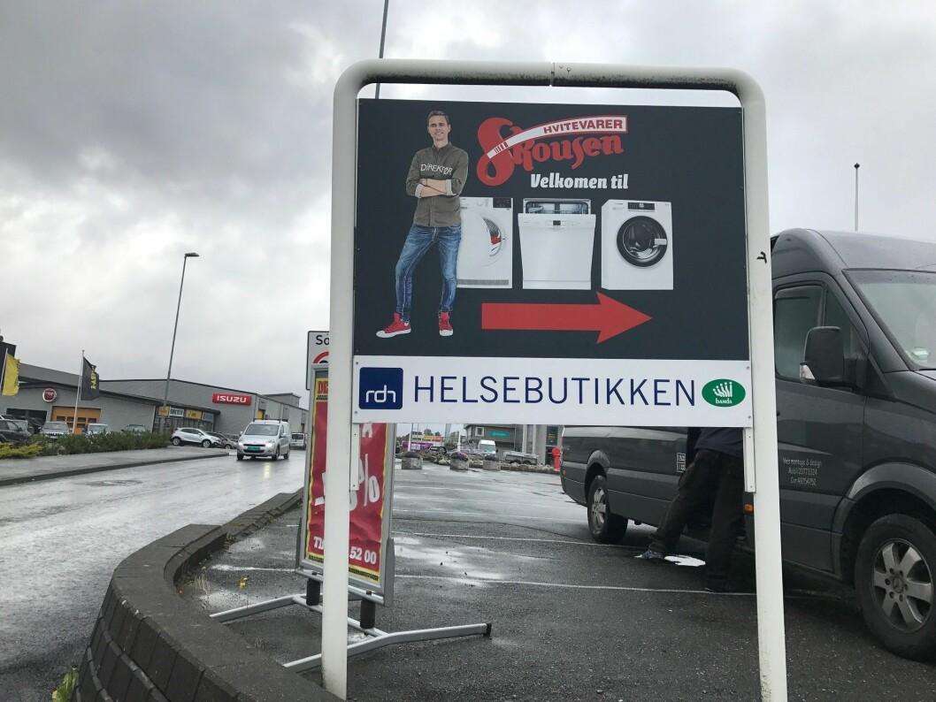 Skousen Stord holder til i Rundehagen 19 på Heiane i Stord. Foto: Skousen