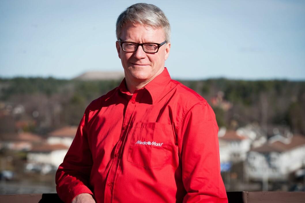 Administrerende direktør Per Kaufmann i MediaMarkt Sweden. Foto: MediaMarkt.