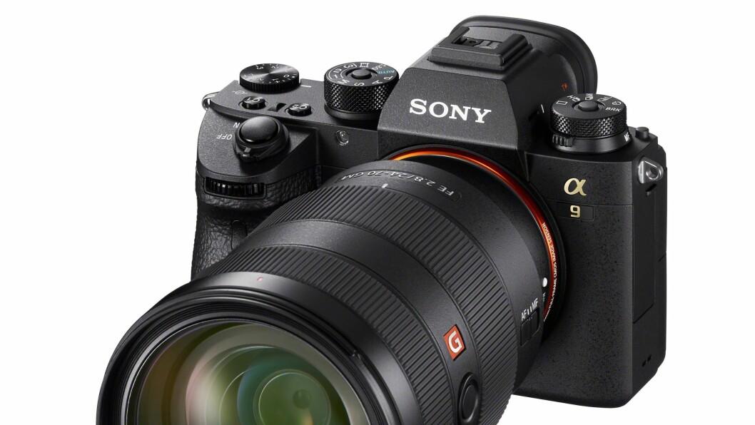 Sony A9 er kåret til «Årets fotoprodukt 2017/2018». Foto: Sony