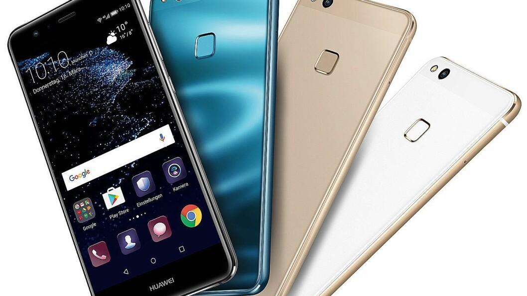 Huawei P10 Lite er kåret til «Årets budsjettmobil 2017/2018». Foto: Huawei