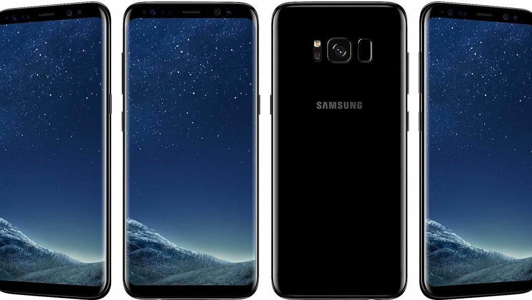 Samsung Galaxy S8 er kåret til «Årets mobil 2017/2018». Foto: Samsung