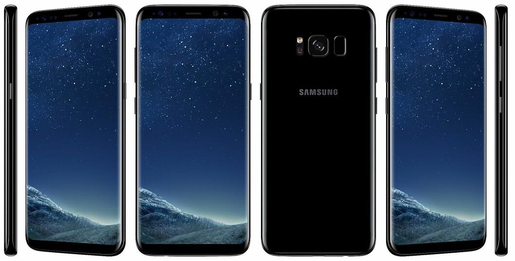 Samsung Galaxy S8 er kåret til «Årets mobil 2017/2018». Foto: Samsung.