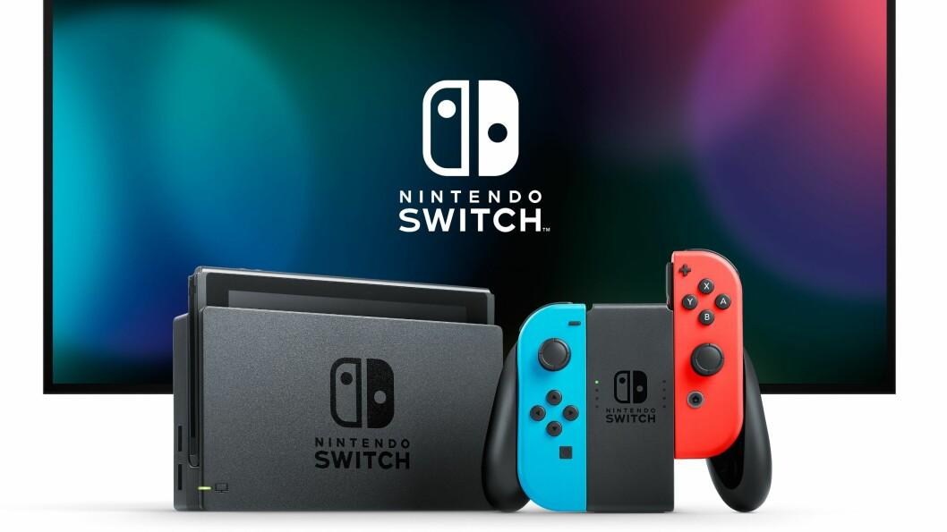 Nintendo Switch er kåret til «Årets spillprodukt 2017/2018». Foto: Nintendo
