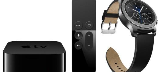 ÅRETS SMARTPRODUKT:APPLE TV 4K OG SAMSUNG GEAR S3
