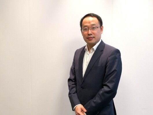 Administrerende direktør Lucas Tan i Huawei Norge. Foto: Erik Ganer, Huawei