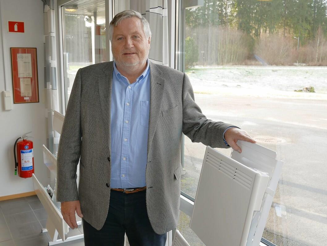 Kjell Sletsjøe kom inn i Beha i sommer, og er daglig leder i selskapene. Foto: Stian Sønsteng