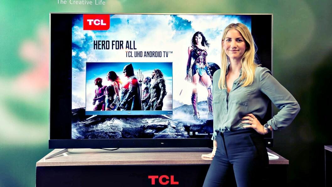 Josefin Persson er nylig ansatt som nordisk markedssjef i det kinesiske selskapet TCL Multimedia. Foto: TCL