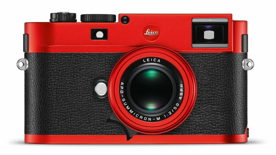 Leica M Typ 262 Red Andoniced Finish