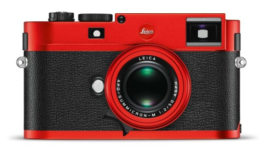 Leica M Red Andoniced Finish