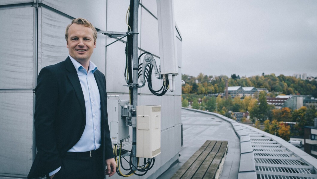 Jon Christian Hillestad, leder for bedriftsmarkedet i Telia Norge, ser enorm etterspørsel etter IoT-løsninger i markedet. Foto: Telia