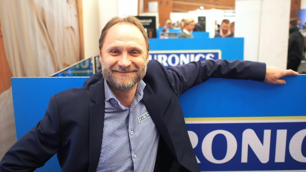 Kenneth Baltzersen slutter som sjef i Euronics Norge. Foto: Jan Røsholm