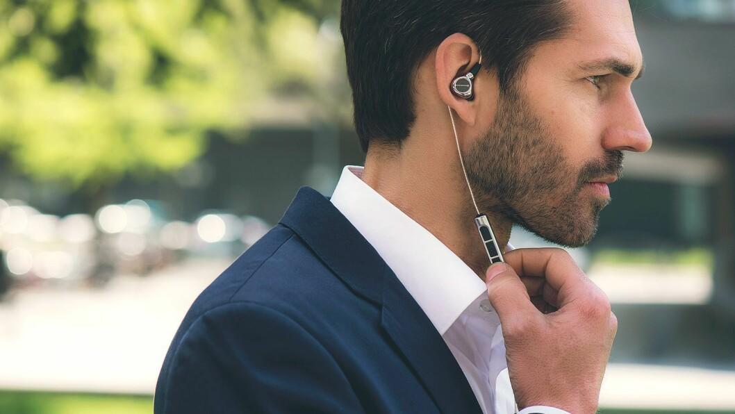 Nå kommer Beyerdynamic med ørepluggene Xelento Wireless, som også justerer lyden etter hørselen. Foto: Beyerdynamic.