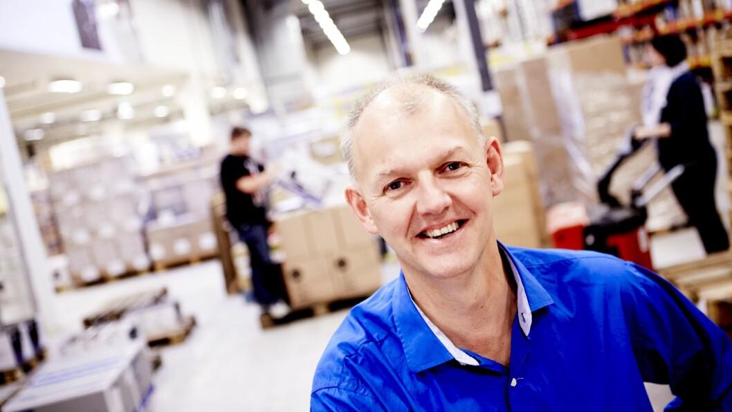 Anton Hagberg, direktør for Komplett Marketplace, har inngått samarbeid med Haugenbok.no. Foto: Komplett