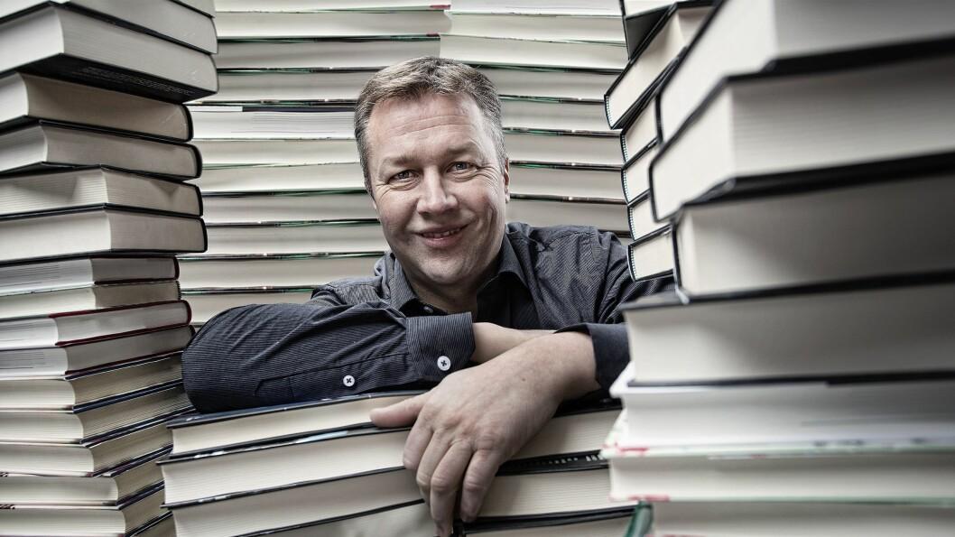 """Lars-Ove Hammer, leder i Haugenbok.no, sier selskapene har en felles filosofi. Foto: Haugenbok.no<br /><span style=""""font-size: 1.6rem; color: #333333;""""></span>"""