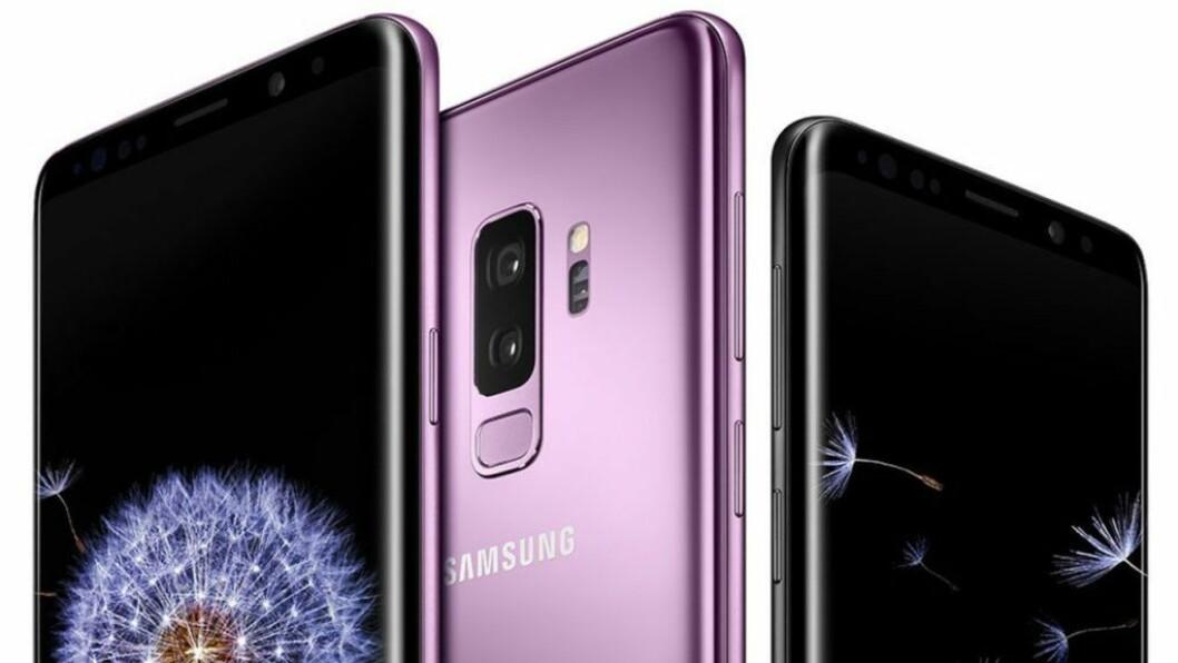 PRODUKT: Samsung Galaxy S9+.