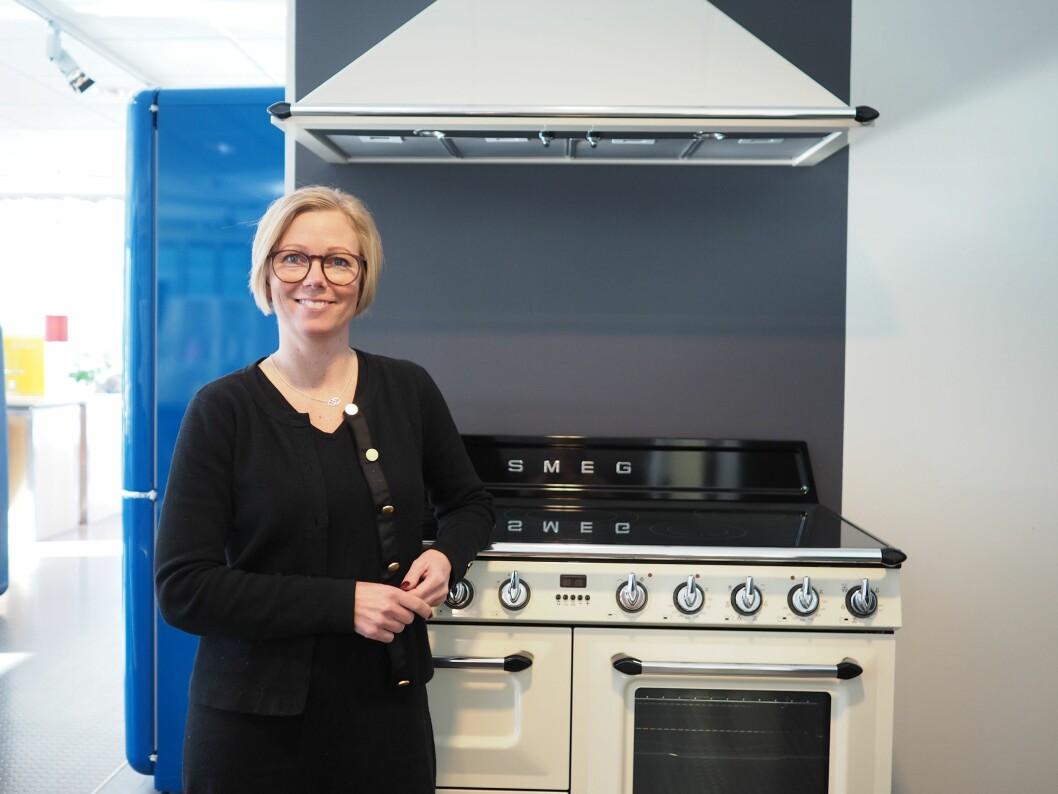 Ulrika Theander er ny administrerende direktør for Smeg Nordic AB. Foto: Smeg