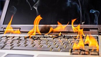 For varm datamaskin skrur seg av