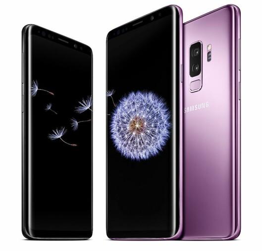 Designmessig er nye S9 og S9+ ganske like forgjengerne. Foto: Samsung.