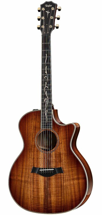 Taylor K24ce. Pris: 37.000,- Foto: Taylor Guitars.
