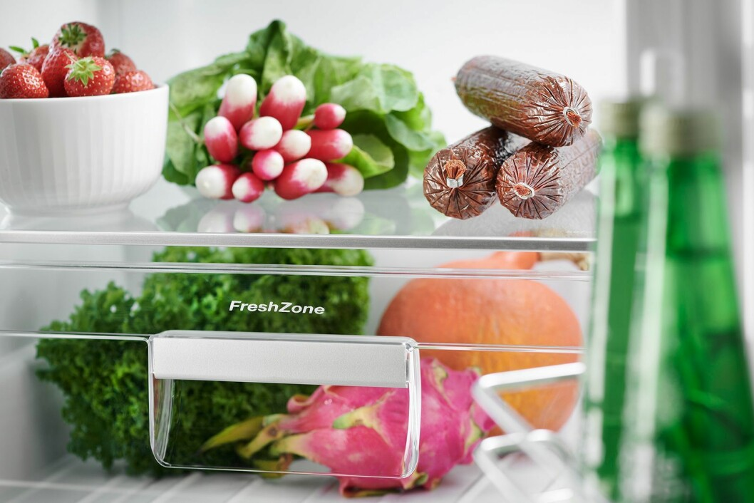 Grams FreshZone skal bidra til at ferskvarene holder seg ferske og at det skaper mindre matsvinn. Foto: Gram