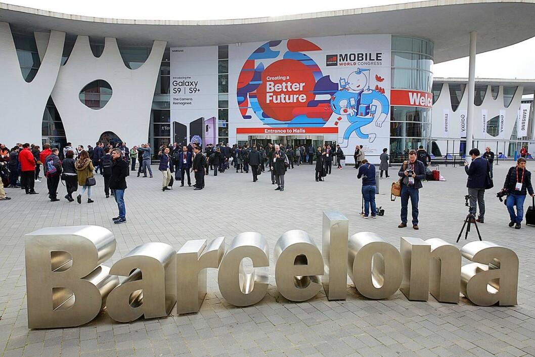Mobile World Congress (MWC) i Barcelona den siste uken i februar. Foto: GSMA
