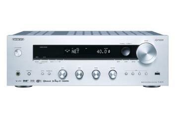 Onkyo TX-8270 er en 2-kanals receiver med 4xHDMI-innganger, Dual-band wifi, blåtann, trådløs multiromløsning (Chromecast), Airplay, Spotify og Tidal. 2x160W. Pris: 7.500,- Foto: Onkyo.