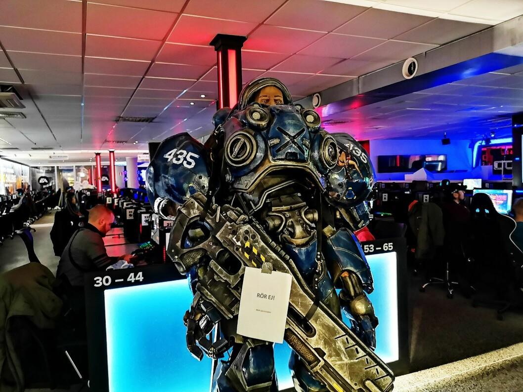 Netgear lanserte sine Nighthawk-produkter på verdens største online gaming-senter, Inferno i Stockholm. Foto: Marte Ottemo