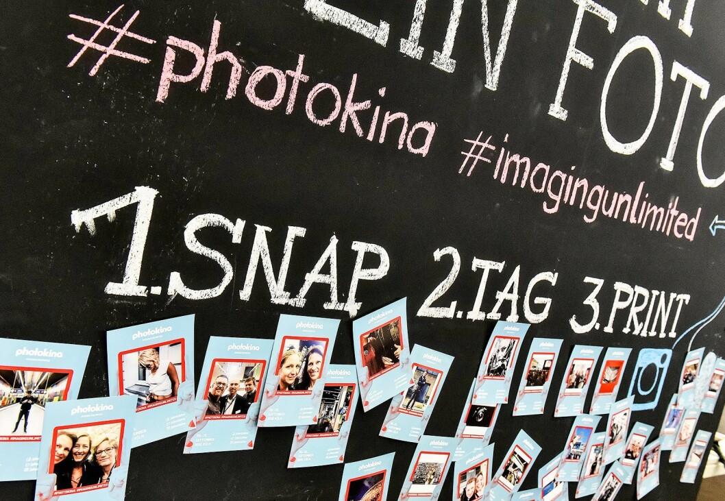 Photokina skal i framtiden også handle om nye digitale løsninger, sosiale medier og teknologier. Foto: Koelnmesse