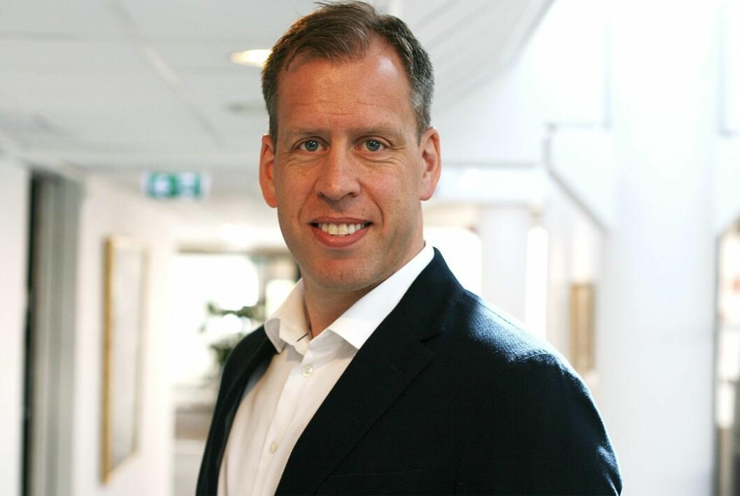 Lars Olav Olaussen er konsernsjef i Komplett. Foto: Komplett