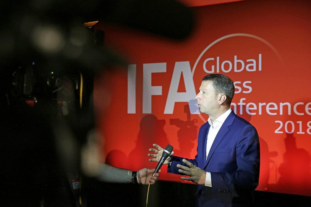 Jens Heithecker er IFA-direktør i Messe Berlin. Foto: IFA.