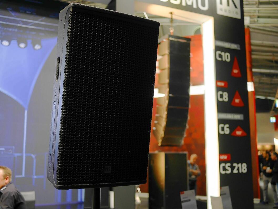 HK Audios nye Contour X-høyttaler. Foto: Stian Sønsteng.