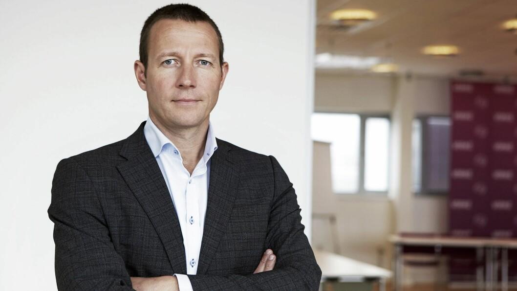 Harald J. Andersen er direktør for Virke Handel. Foto: Virke