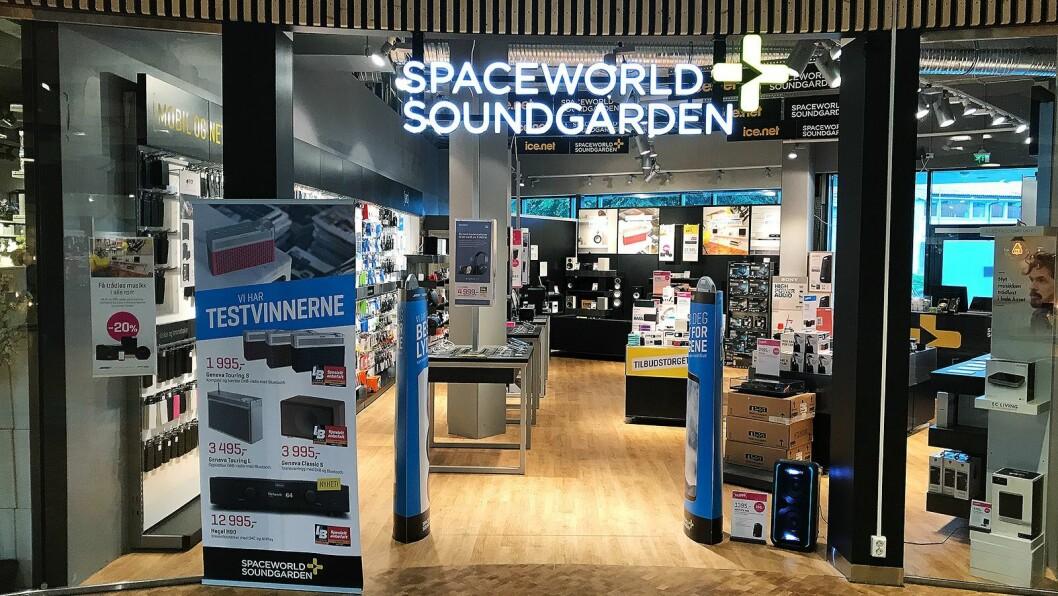 Spaceworld Soundgarden Kilden i Stavanger. Foto: Spaceworld Soundgarden.