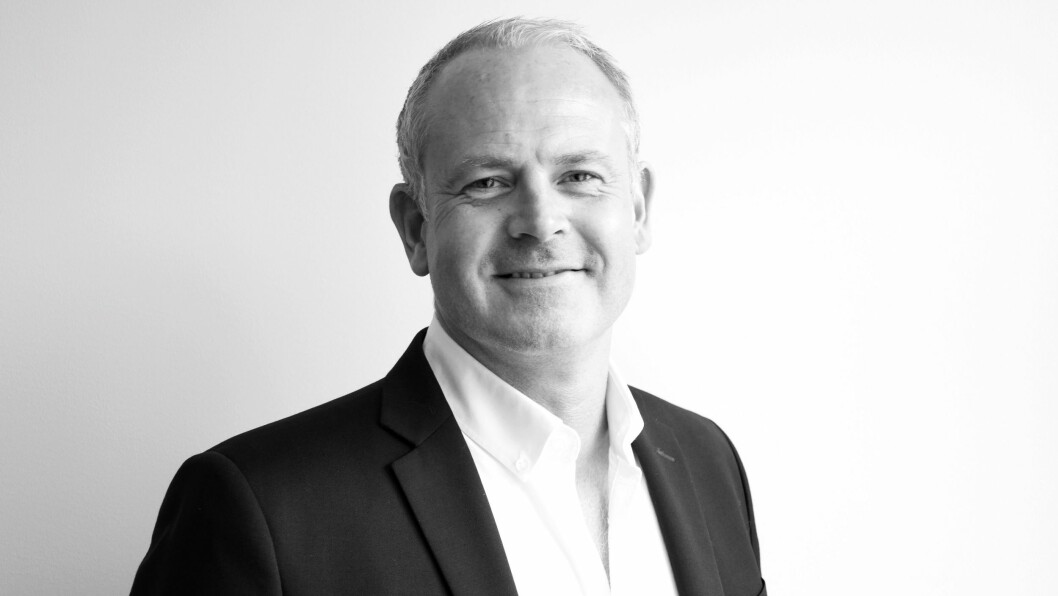 Fungerende konsernsjef Roger Sandberg rapporterer positive tall for 2017. Foto: NetOnNet