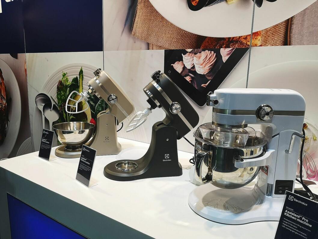 Electrolux' kjøkkenmaskiner har fått en oppgradering i år. Foto: Marte Ottemo.
