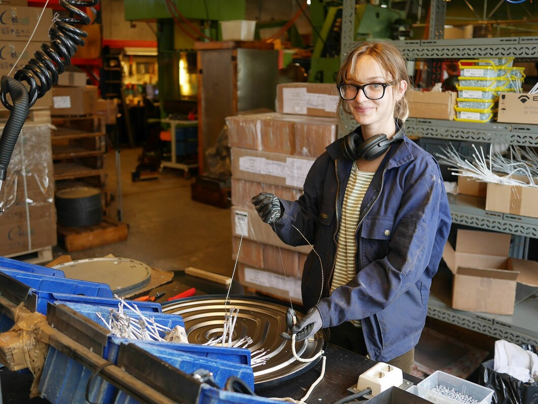 Åsne Engmark er datteren til Håvid, og fjerde generasjon ved Engmark Meteor AS. Foto: Stian Sønsteng.