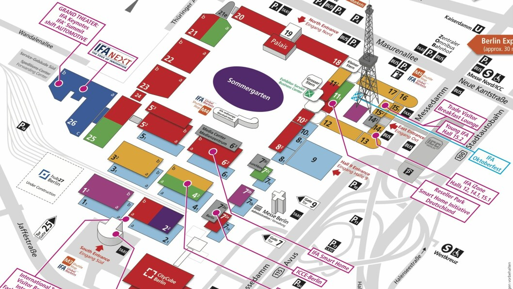 Kart over IFA.
