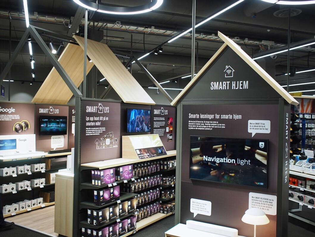Elkjøp har bygget en egen smarthusavdeling. Foto: Jan Røsholm