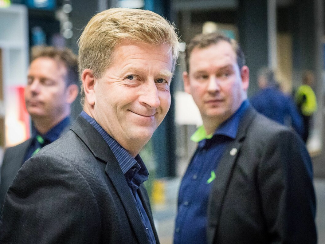 Prosjektleder for Elkjøp Lørenskog er Odd Bergseth. Han har designet og tegnet den nye butikken sammen med Elkjøp Nordic og avdelingen Store Format & Property. Foto: Ketil Martinsen.