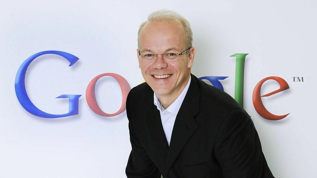 Google-sjef i Norge, Jan Grønbech. Foto: Google.