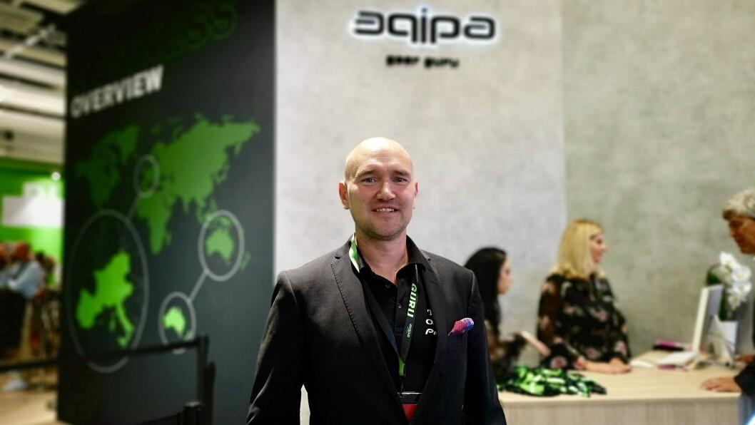 Johan Niininen, nordisk produktsjef i Pioneer & Onkyo, ser fram til å bli en del av Aqipa-familien. Foto: Marte Ottemo.