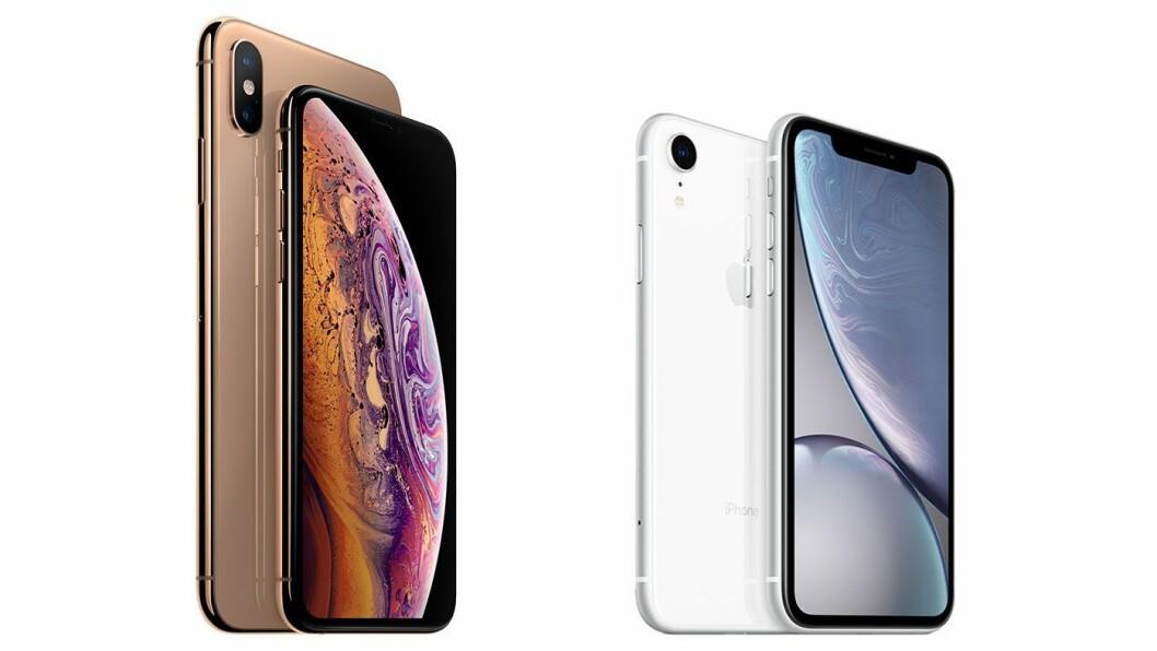 Apple iPhone XS Max og XS