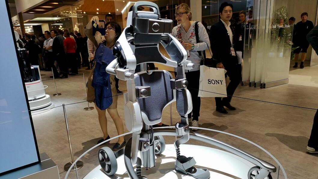 LG Cloi SuitBot. Foto: Marte Ottemo.