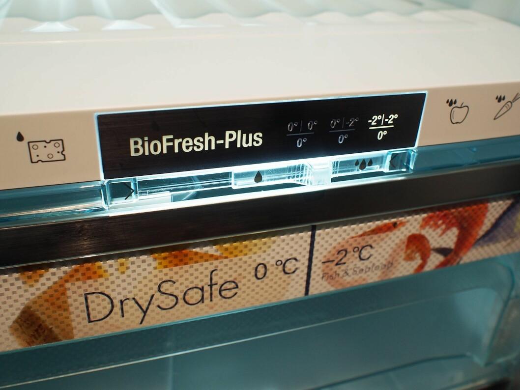 Biofresh Plus leveres på utvalgte modeller. Foto: Jan Røsholm.