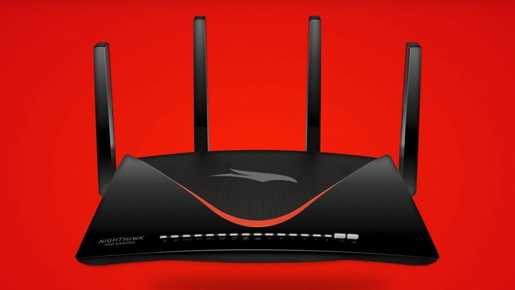 Nighthawk Pro Gaming XR700 WiFi Router. Pris: 5.300,- Foto: Netgear.