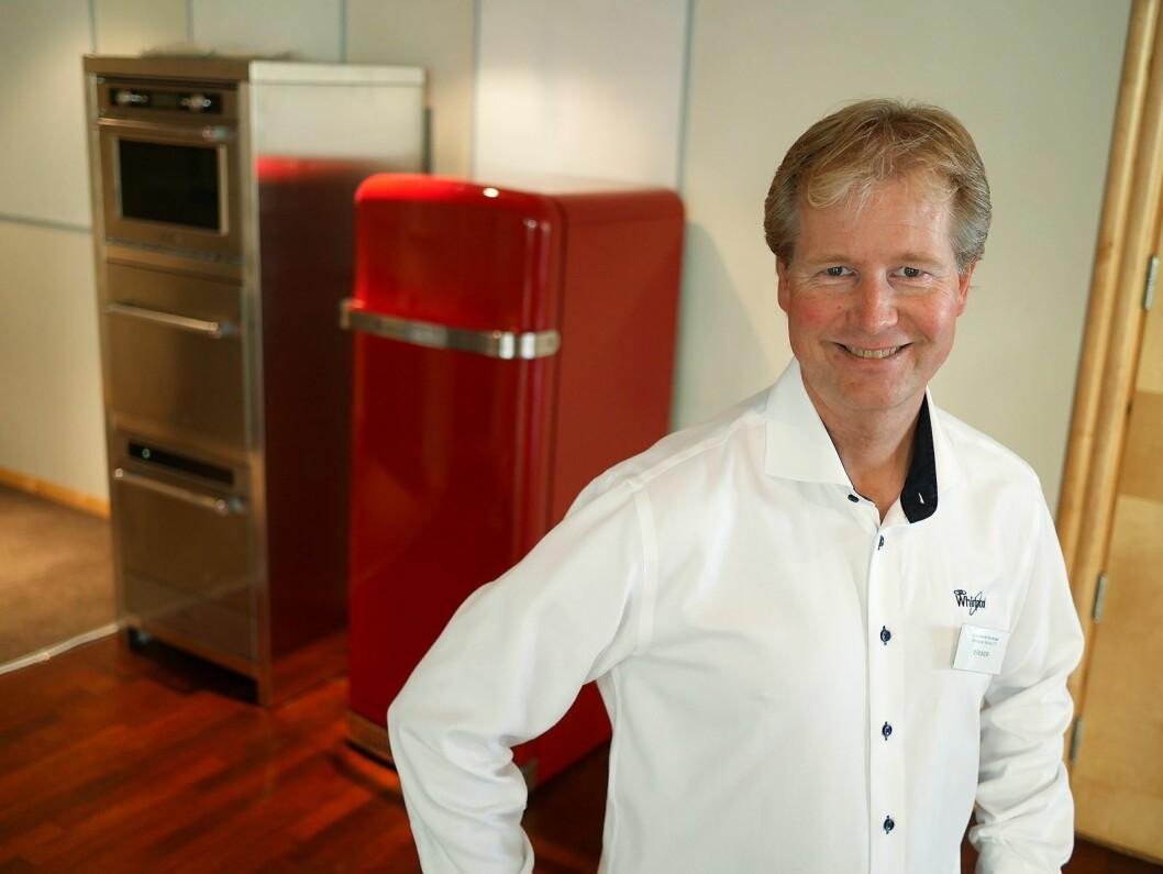 Servicesjef Ole Henrik Storkaas i Whirlpool Nordic. Foto: Stian Sønsteng