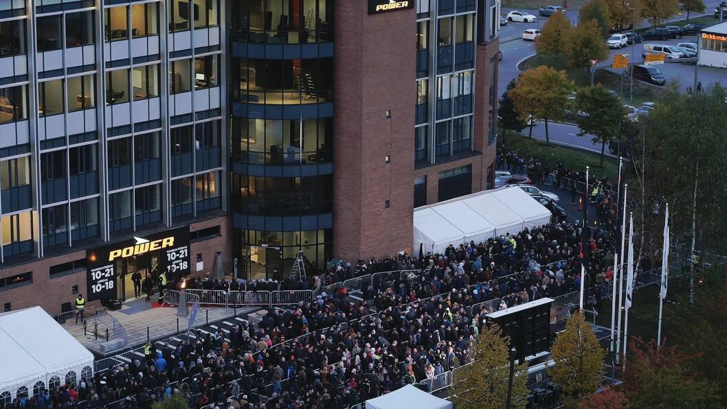 Power Lørenskog holder til i samme bygg som kjedens hovedkontor, i Solheimsveien 68. Foto: Power