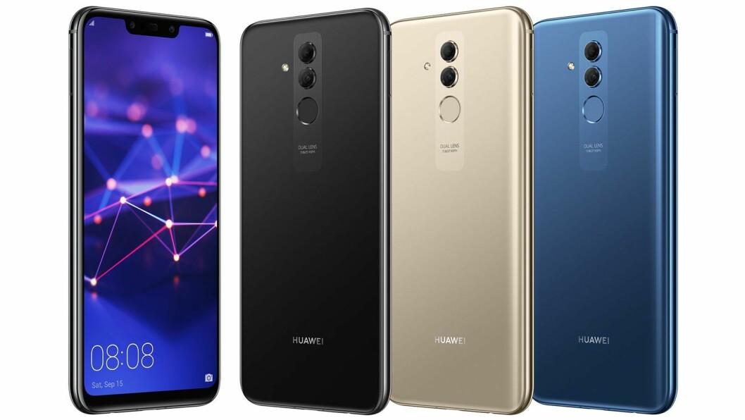 Finalist: Huawei Mate20 Lite. Foto: Huawei.